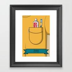 Pockets - Clean Freak - Framed Art Print