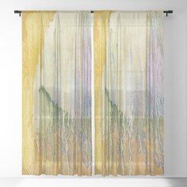 Healing I Sheer Curtain