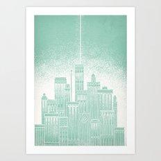 Uranus Art Print