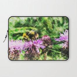 Bee In Clover Laptop Sleeve