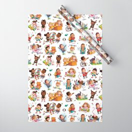 One Springy, Singy Day  Wrapping Paper