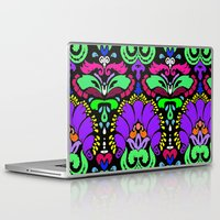 damask Laptop & iPad Skins featuring Damask by Urlaub Photography