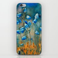matty healy iPhone & iPod Skins featuring  Bluebells. by Mary Berg