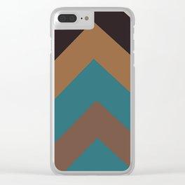 Geometric - 2 Clear iPhone Case