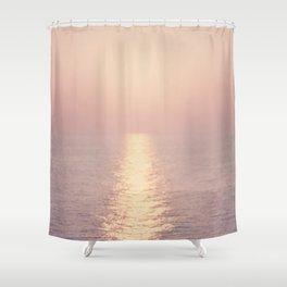 cashmere rose sunset Shower Curtain