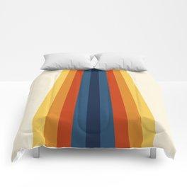 Bright 70's Retro Stripes Comforters