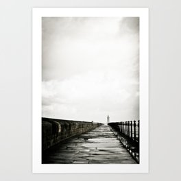 English Pier Art Print