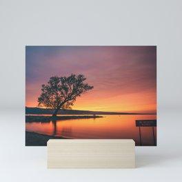 Seneca Lake - New York, USA Mini Art Print