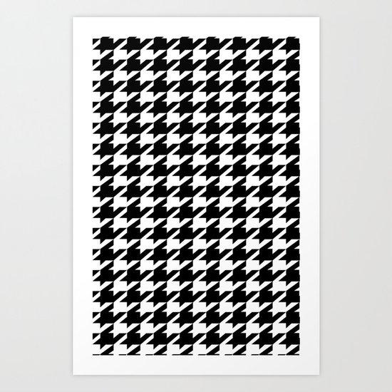 dogstooth Art Print