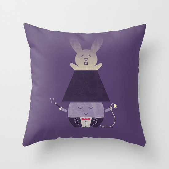 Magic Lamp Throw Pillow