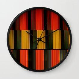 Cinetismo Wall Clock