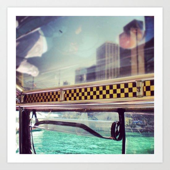 Wendella Water Taxi Art Print