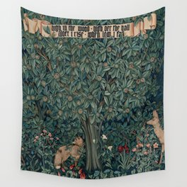 William Morris Greenery Tapestry Pt 2 Wall Tapestry