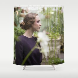 Julia in Great Expectations Shower Curtain