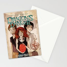 Dragon's Danger Cover Stationery Cards