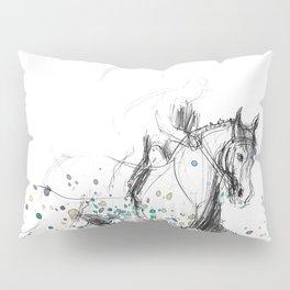 Horse (Rainy canter) Pillow Sham