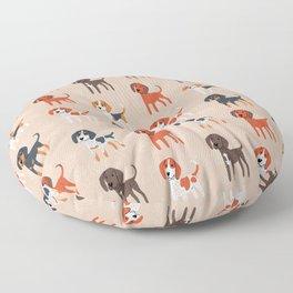 Coonhounds! Floor Pillow