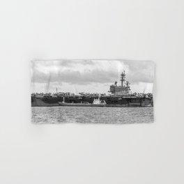 USS George H.W Bush. Hand & Bath Towel