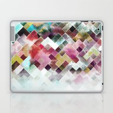 Moody watercolor patchwork  Laptop & iPad Skin