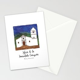 Iglesia de la Inmaculada Concepcion Stationery Cards