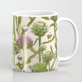 artichoke flowers Coffee Mug