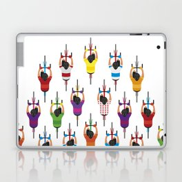 Cycling Squad Laptop & iPad Skin