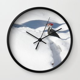 Snowbird 2 Wall Clock