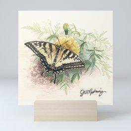 Swallowtail Study Mini Art Print