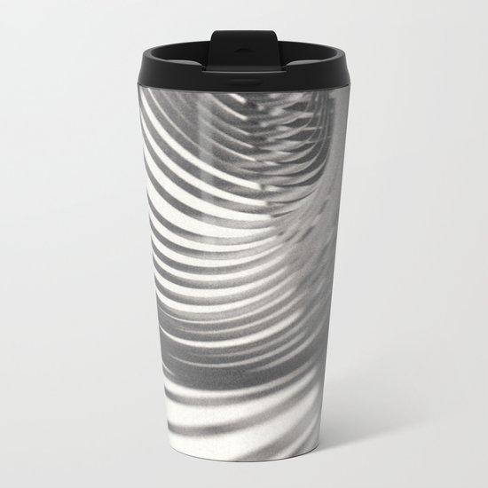 Paper Sculpture #9 Metal Travel Mug