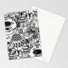 Dark Matter Space Machine Stationery Cards