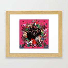 La Casta Framed Art Print