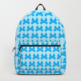 Blue Butterfly Aunty - Origami Blue Butterfly Backpack