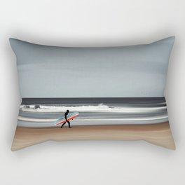 Last Surf of Summer Rectangular Pillow