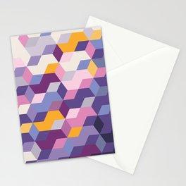 Violet Pattern Stationery Cards
