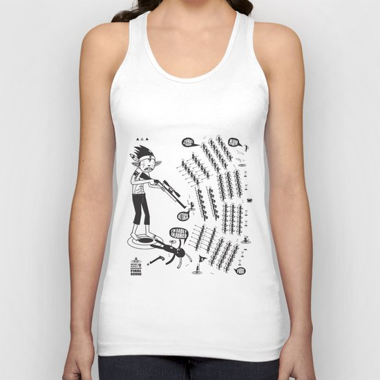 SORRY I MUST RUN - ULTIMATE WEAPON ARROW [FINAL ROUND] Unisex Tank Top