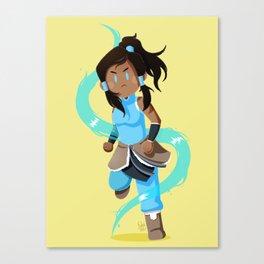 Little Warriors: Korra Canvas Print