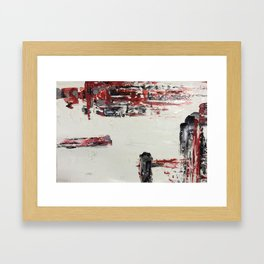 Missed Connections Framed Art Print