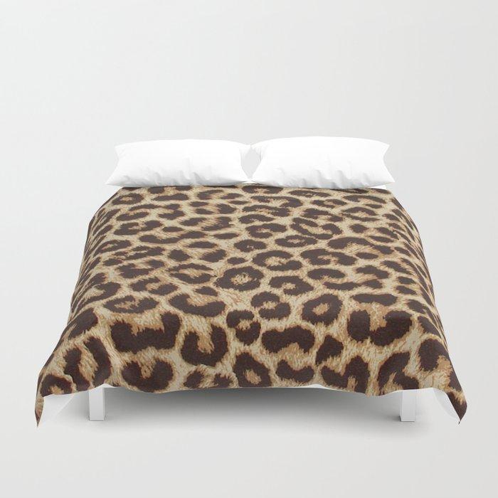Leopard Print Bettbezug