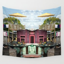 Squat New Age Wall Tapestry