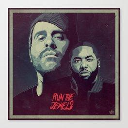 RUN THE JEWELS Canvas Print