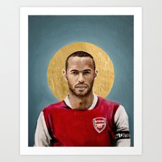 TH - Football Icon Art Print