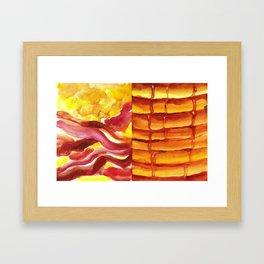 Bakin', Ehgz, and Panckes Framed Art Print