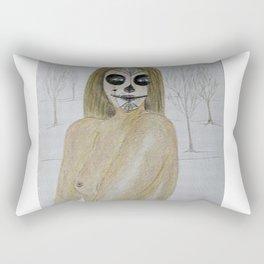 Sugar face nude 3 Rectangular Pillow