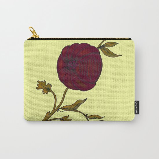 simple decorative pomegranate 3 Carry-All Pouch