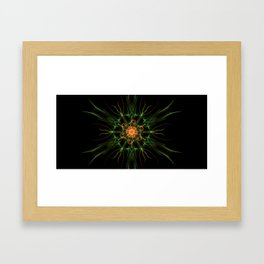 Fire Core Framed Art Print