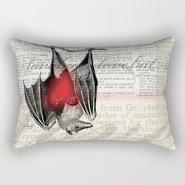 Bat Love by Kathy Morton Stanion Rectangular Pillow