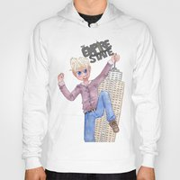 hetalia Hoodies featuring The Empire State by Rofley