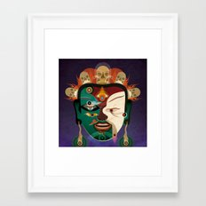 Jiebushen Framed Art Print