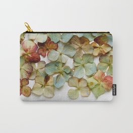 Hydrangea Petals no. 2 Carry-All Pouch