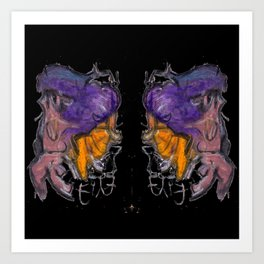 fing2 Art Print